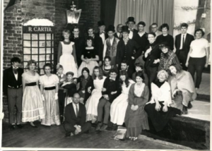 A Christmas Carol at The Tithe Barn, Bishops Cleeve in December 1966.  Best Play - runner up was awarded for this production.