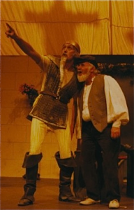 Don Quixote of La Mancha by Cervantes at The Playhouse in December 1992.