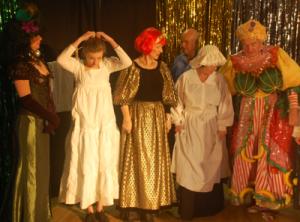 Pantomime Rehearsal