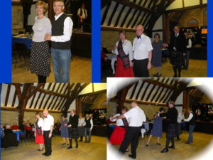We demonstrated the dances first but nearly everyone joined in and had a go!